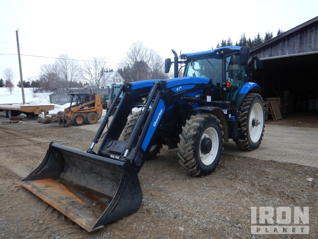 2018 New Holland T7190AC 4WD Tractor, MFWD Tractor