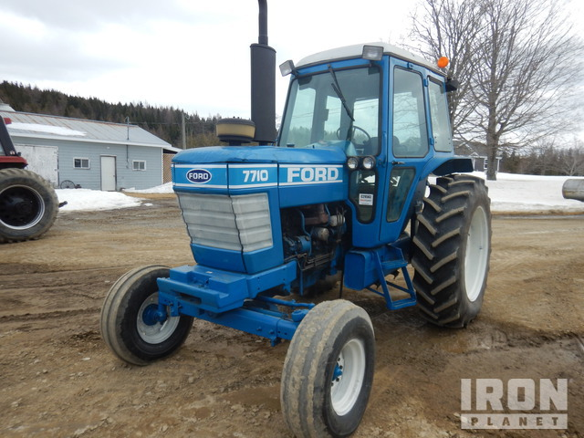 1981 Ford 7710 2WD Tractor, 2WD Tractor