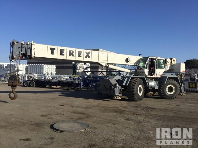 2008 Terex RT780 80 Ton Rough Terrain Crane, Rough Terrain Crane