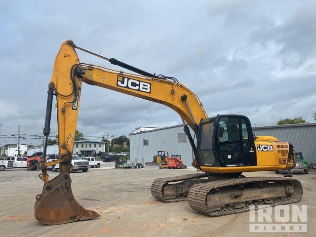 2015 JCB JS220LC Track Excavator, Hydraulic Excavator