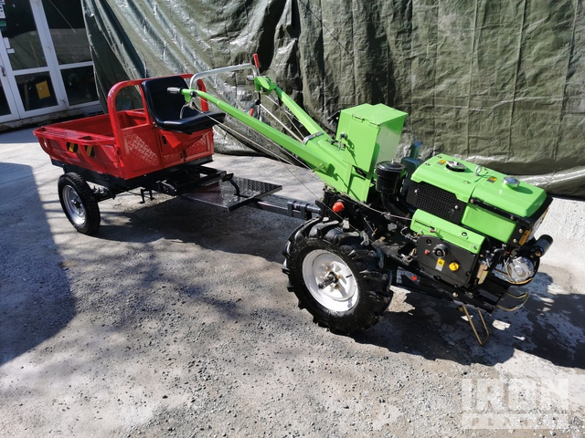 2020 Kentavr R195 NML 2WD Walk Behind Utility Tractor w/Attachments - Unused, Utility Tractor