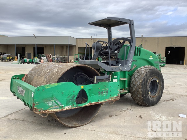 2012 Hamm 3410 Vibratory Single Drum Compactor, Vibratory Padfoot Compactor