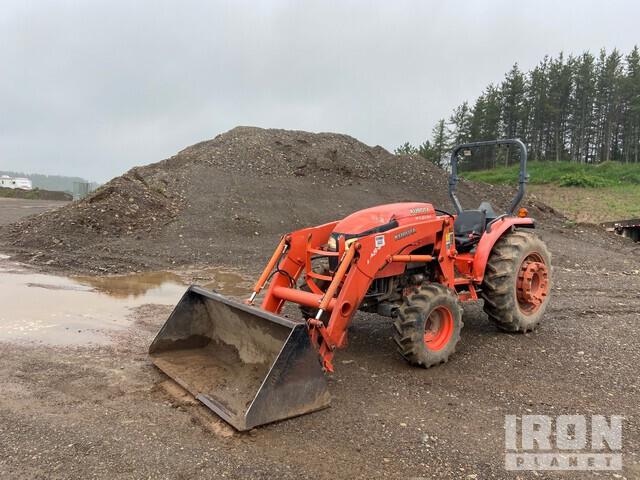 Kubota MX5100 4WD Tractor, MFWD Tractor
