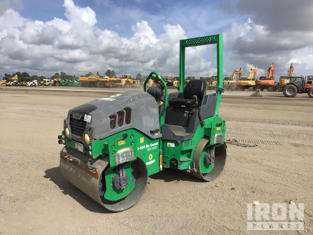 2014 (unverified) Hamm HD12VV Vibratory Double Drum Roller, Tandem Roller