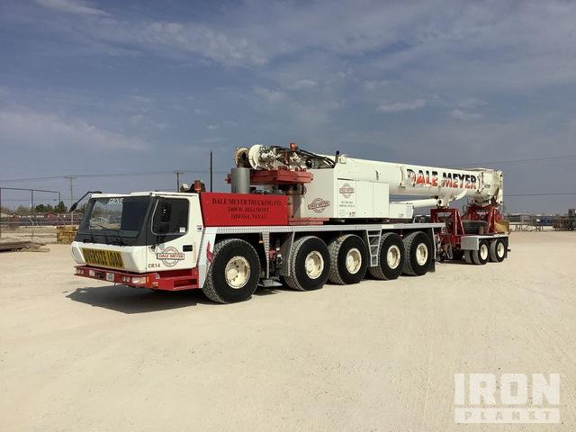2008 (unverified) Grove GMK5165 165 ton 10x8x4 Hydraulic Truck Crane, Hydraulic Truck Crane