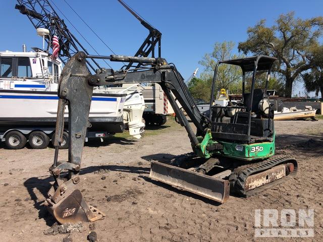 2012 John Deere 35D Mini Excavator, Mini Excavator (1 - 4.9 Tons)