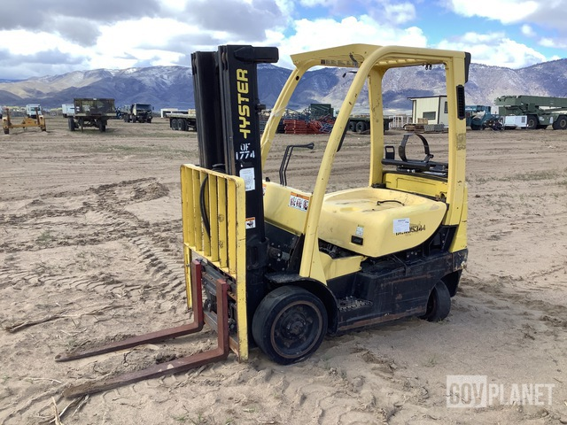 Hyster 40 Cushion Tire Forklift, Forklift