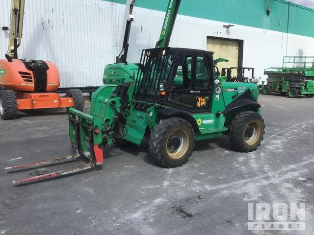 2012 (unverified) JCB 520-50 4x4 4400 lb Telehandler, Telescopic Forklift