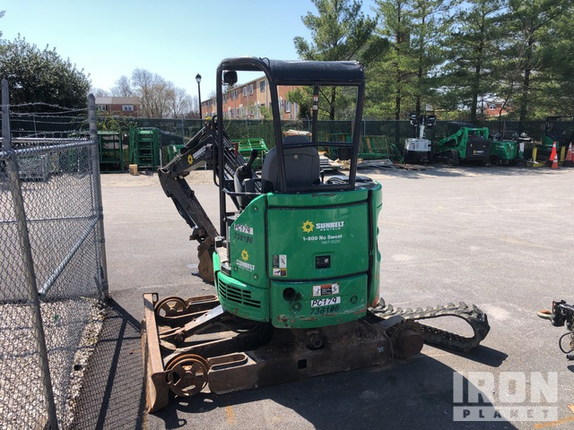 2015 John Deere 26G Mini Excavator, Parts/Stationary Construction-Other