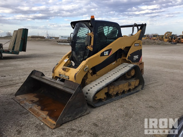 2010 Cat 289C Two-Speed Compact Track Loader, Parts/Stationary Construction-Other
