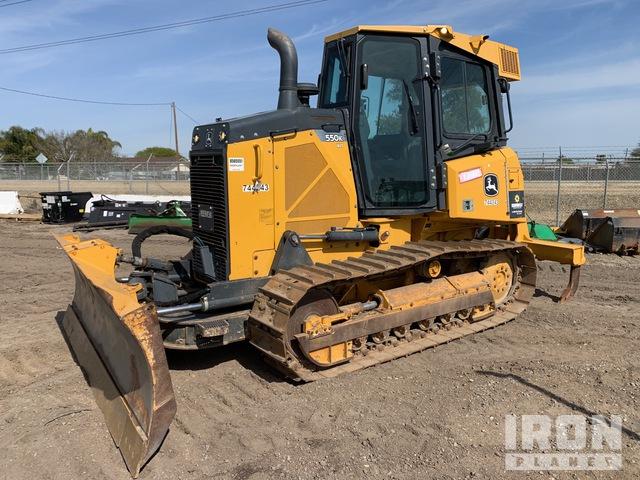 2015 (unverified) John Deere 550KXLT Crawler Dozer, Crawler Tractor