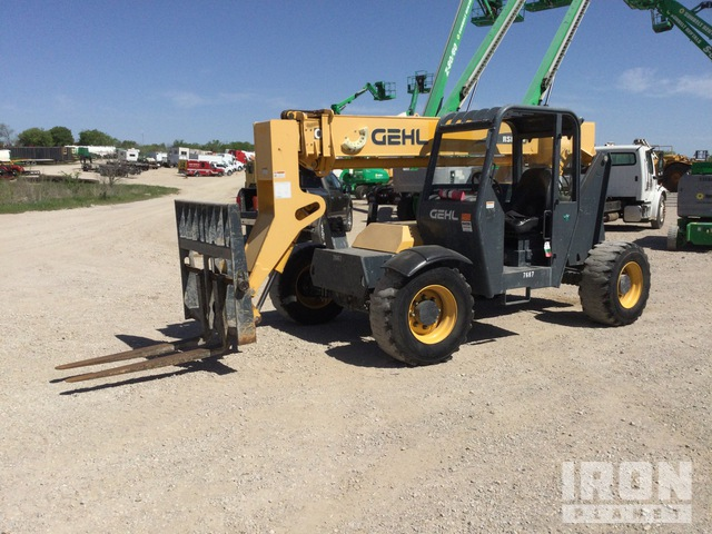 2015 (unverified) Gehl RS6-34 Telehandler, Telescopic Forklift