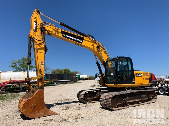 2014 (unverified) JCB JS220 Track Excavator, Hydraulic Excavator