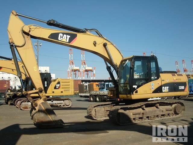 2012 年 Cat 320D2 Track Excavator, Hydraulic Excavator