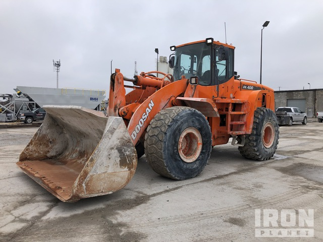 2007 (unverified) Doosan DL400 Wheel Loader, Wheel Loader