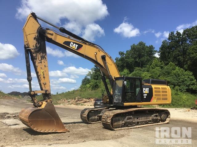 2014 Cat 349FL Track Excavator, Hydraulic Excavator