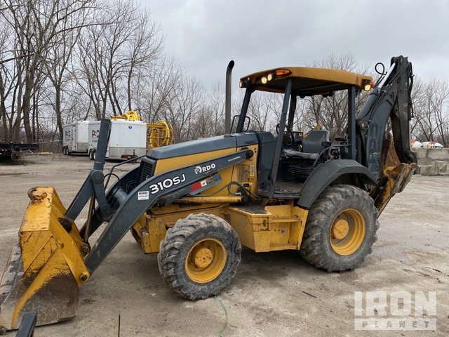 2012 John Deere 310SJ 4x4 Backhoe Loader, Loader Backhoe
