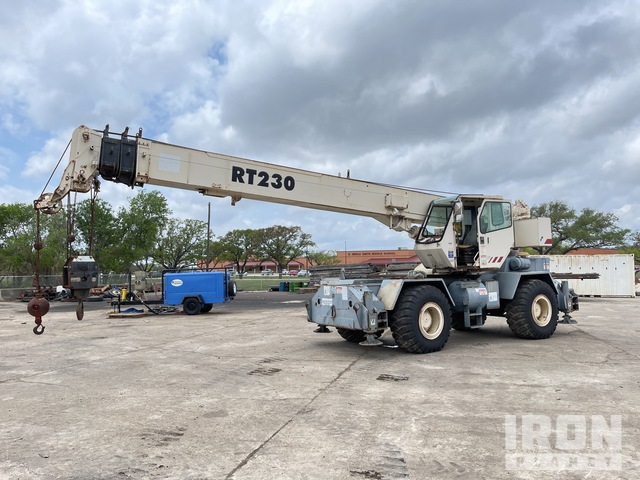 Terex RT230 30 Ton Rough Terrain Crane, Rough Terrain Crane