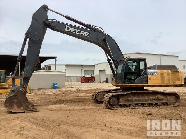 2013 (unverified) John Deere 350G LC Track Excavator, Hydraulic Excavator