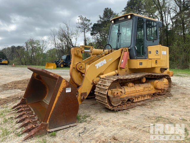 2005 (unverified) John Deere 755C Crawler Loader, Crawler Loader
