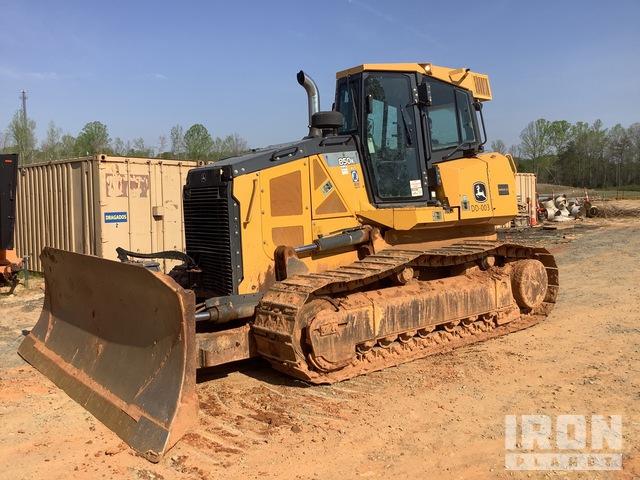 2015 (unverified) John Deere 850K XLT Crawler Dozer, Crawler Tractor