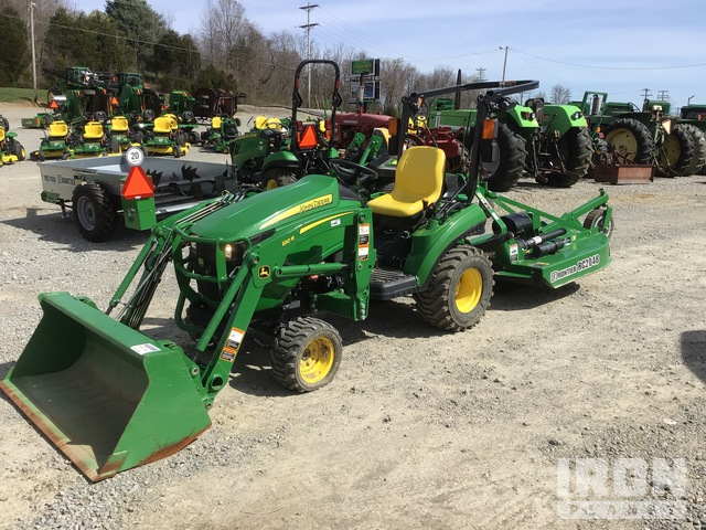 2018 (unverified) John Deere 1023E Utility Tractor, Utility Tractor