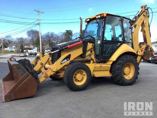 2007 Cat 430E IT 4x4 Backhoe Loader, Loader Backhoe