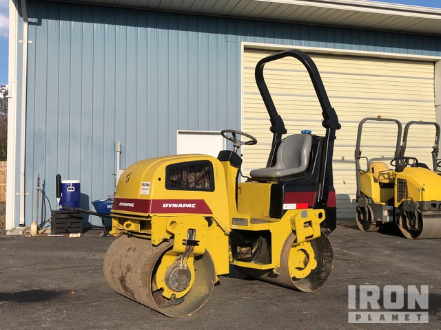 2008 Dynapac CC900G Vibratory Double Drum Roller, Tandem Roller