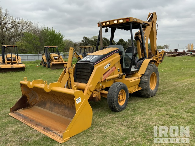 2006 Cat 416D 4x2 Backhoe Loader, Loader Backhoe