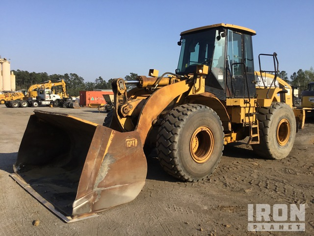 2006 Cat 962H Wheel Loader, Wheel Loader