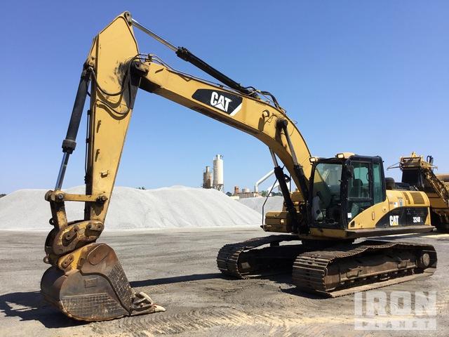 2007 Cat 324D L Track Excavator, Hydraulic Excavator