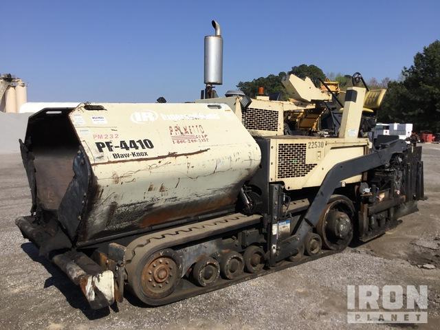 2005 Blaw-Knox PF-4410 Track Asphalt Paver, Asphalt Paver