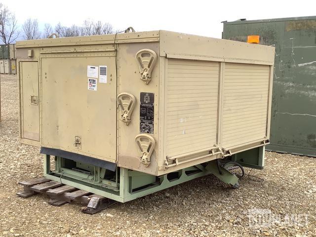 Rock Island Arsenal SECM-LT Contact Maintenance Shop Shelter, Truck Attachment - Other
