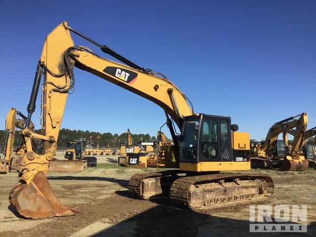 2013 Cat 328D LCR Track Excavator, Hydraulic Excavator