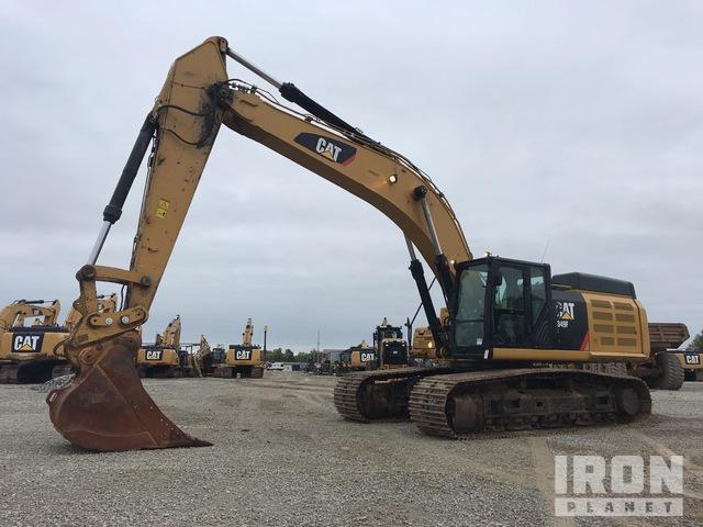 2016 Cat 349FL Track Excavator, Hydraulic Excavator