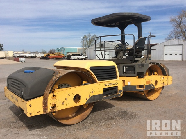 2008 (unverified) Volvo DD138HFA Vibratory Double Drum Roller, Roller
