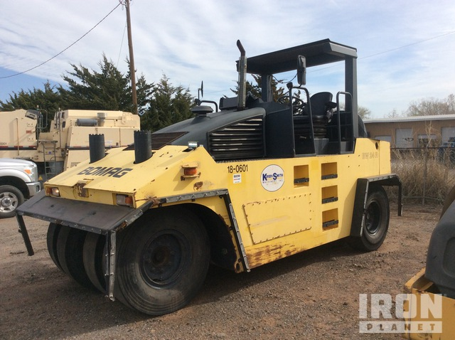 2006 (unverified) Bomag BW24R Wheel Pneumatic Roller, Roller
