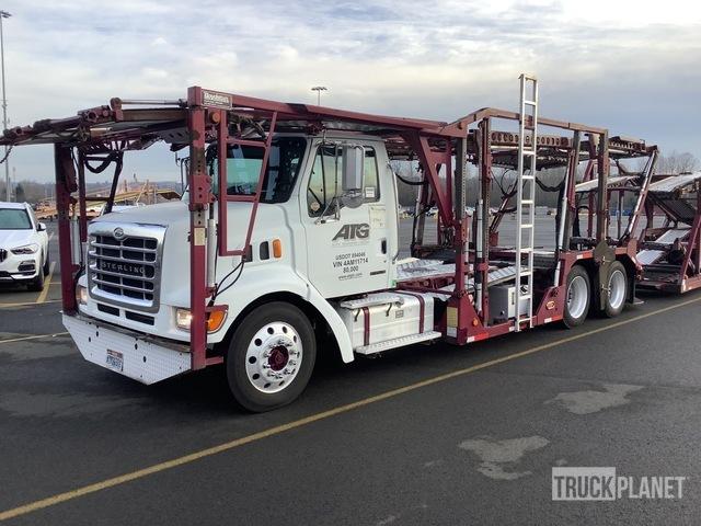 2004 Sterling LT9500 Car Carrier Truck w/2004 Boydstun Car Carrier Trailer, Car Hauler Truck