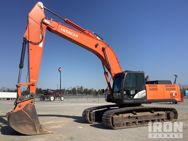 2012 Hitachi ZX350LC-5 Track Excavator, Hydraulic Excavator