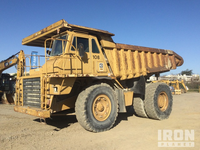 1982 Cat 773B Off-Road End Dump Truck, Rock Truck