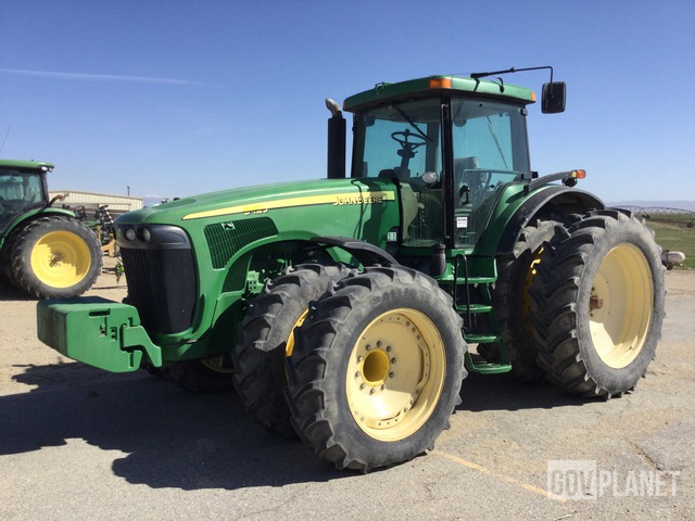 John Deere 8420 4WD Tractor, MFWD Tractor