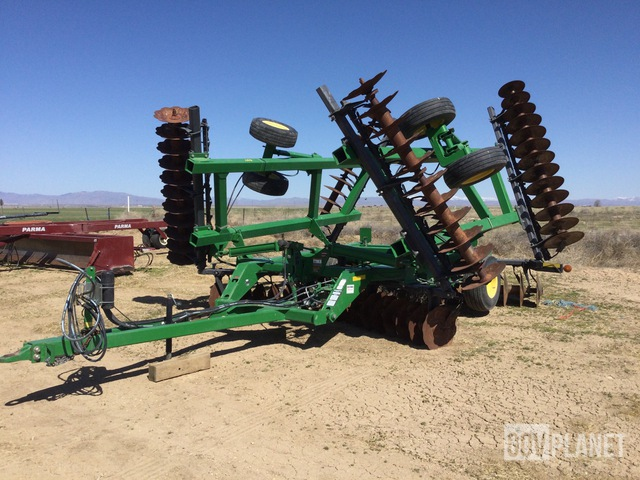 John Deere 637 Disc Harrow, Disc Harrow