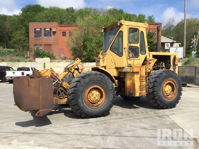 1972 Cat 814 Wheel Dozer, Wheel Dozer