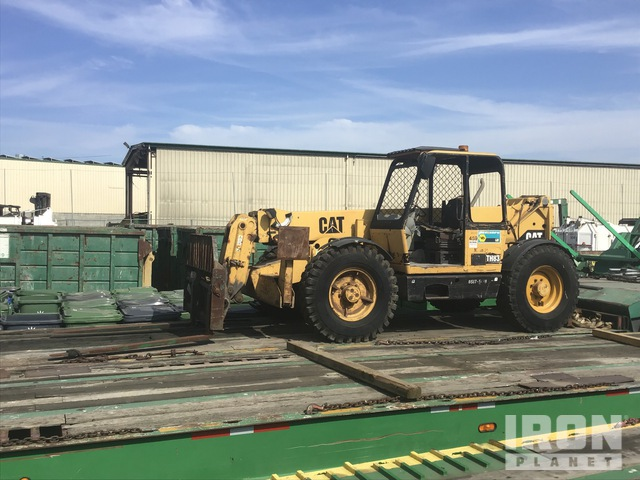 1998 Cat TH83 4x4x4 Telehandler, Telescopic Forklift