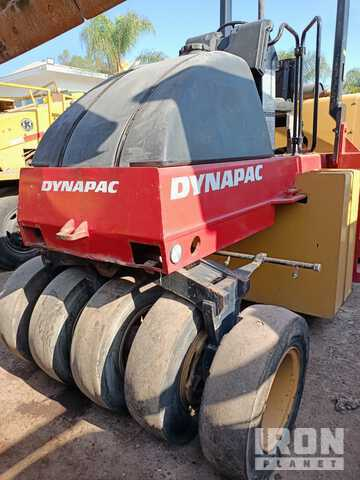 Dynapac CP132 Pneumatic Roller, Roller