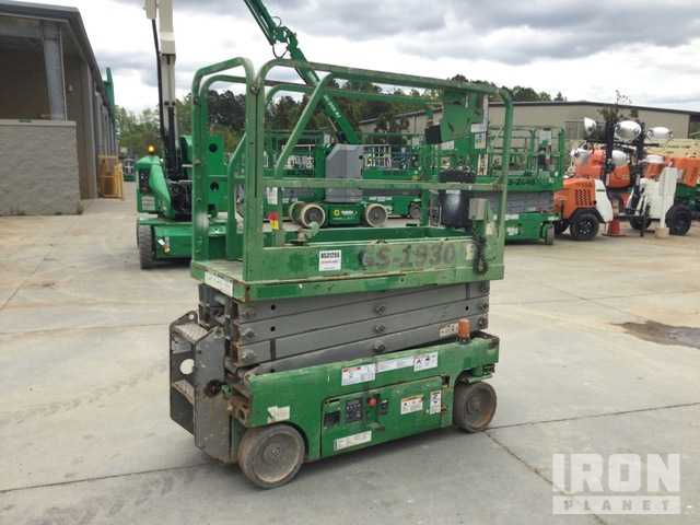 2012 Genie GS1930 Electric Scissor Lift, Scissorlift