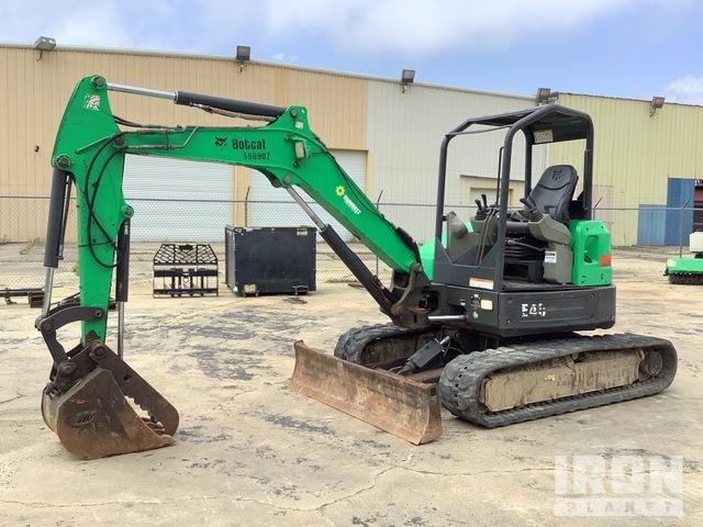 2014 Bobcat E45 Mini Excavator, Mini Excavator (1 - 4.9 Tons)