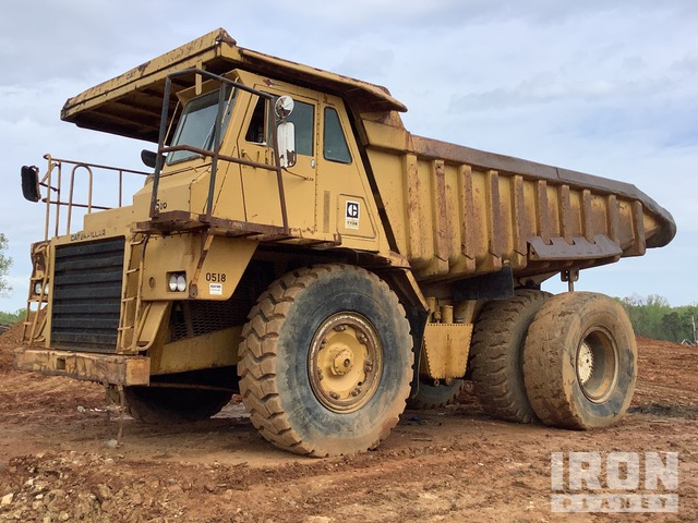 Cat 773B Off-Road End Dump Truck, Rock Truck