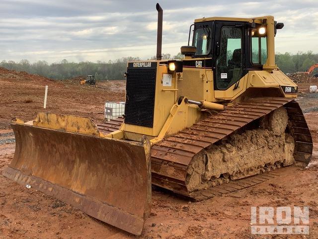 Cat D6M LGP Crawler Dozer, Crawler Tractor