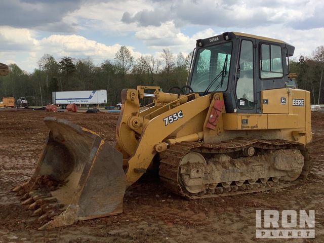 John Deere 755C Crawler Loader, Crawler Loader